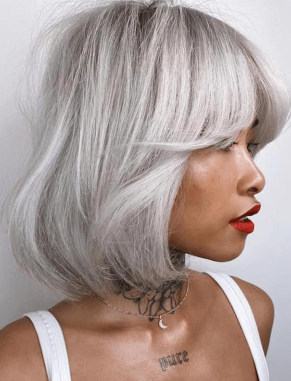 winter colour lift silver tones